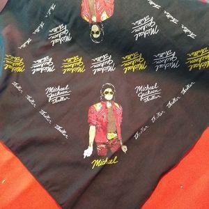 Michael Jackson bandana